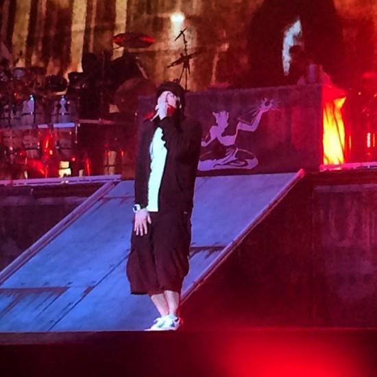 20 февраля 2014 Eminem Brisbane Australia, Rapture 2014 Suncorp Stadium