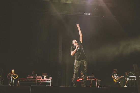 Rapture 2014 – Etihad Stadium, Melbourne 19.02.14 J Cole