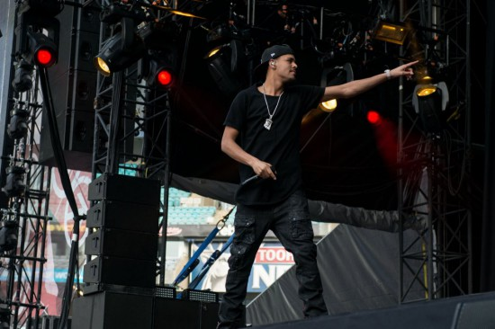 Rapture 2014 – ANZ Stadium, Sydney 22.02.14 J Cole