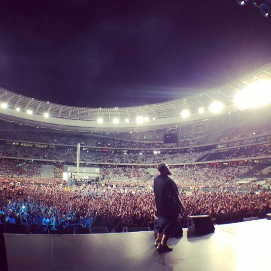 Eminem Rapture 2014 Cape Town 26.02.2014