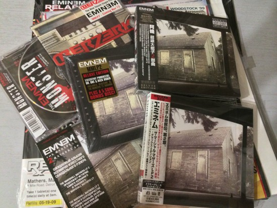 Eminem The Marshall Mathers LP 2 MMLP2 Russia Japan Korea USA