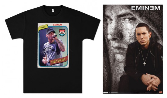 Jeremy Deputat 2012.03 - Some new Eminem merchandise shot by Jeremy Deputat