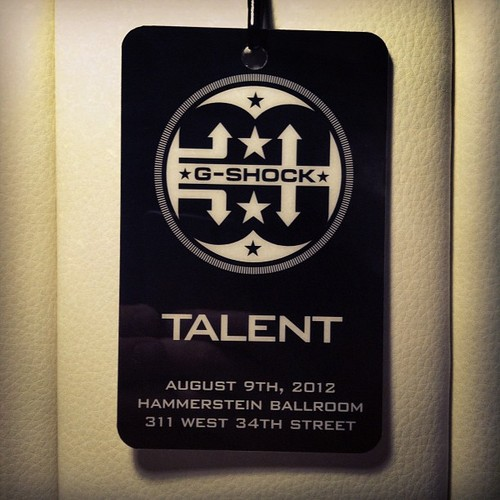 Jeremy Deputat 2012.08.10 - G-Shock. 30th Anniversary. Eminem. Slaughterhouse. Great party