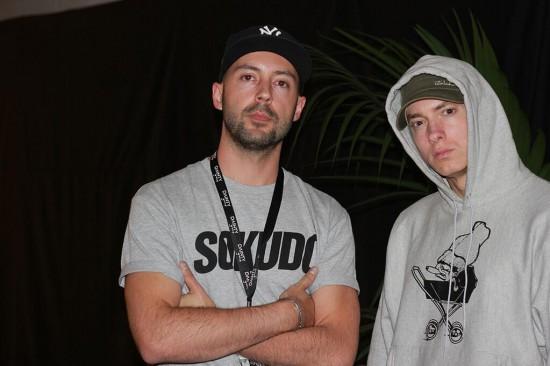 M-Phazes and Eminem @ Rapture 2014 (22 февраля)