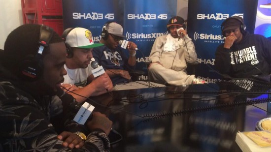 Slaughterhouse Freestyle Cypher On Sway In The Morning (SXSW Edition)