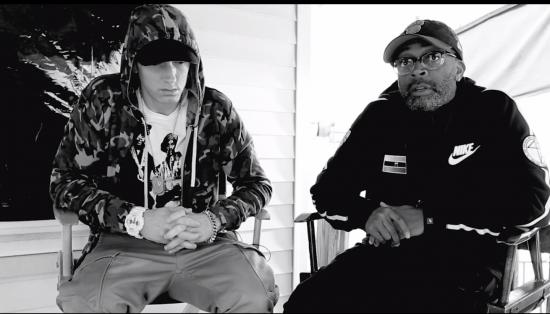 2014.05.10 - Spike Lee Talks Eminem Headlights Video