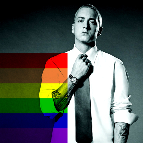 Shady Will Rainbow Flag It - by Borbay (Eminem) 1