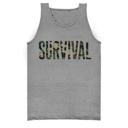 1 Pre-Order Eminem Survival Tank (Grey)