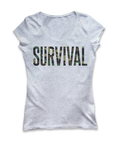 5 Pre-Order Eminem Survival Women's T-Shirt (Grey)
