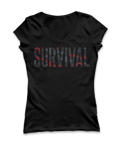 6 Pre-Order Eminem Survival Women's T-Shirt (Black)