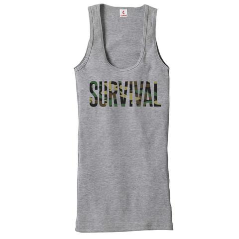 7 Pre-Order Eminem Survival Women's Tank (Grey)