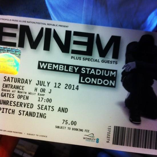 02 Eminem Wembley Stadium 12.07.2014