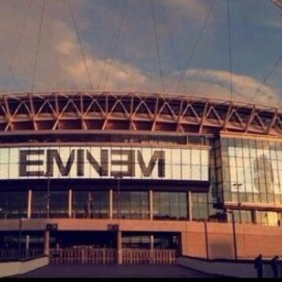 Eminem Wembley Stadium 11.07.2014