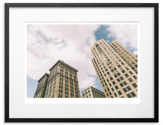 Detroit - Twin Towers (Signed and numbered by Jeremy Deputat) 2