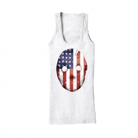 Eminem HOCKEY_MASK_SHIRT-07 Emdependence Day Women's Tank (White)