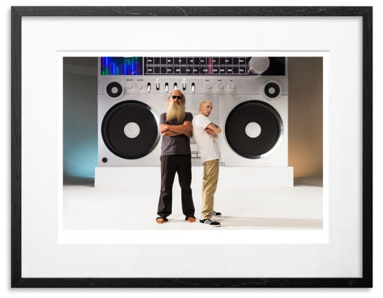 Eminem & Rick Rubin - Berzerk (Signed and numbered by Jeremy Deputat) 17x24