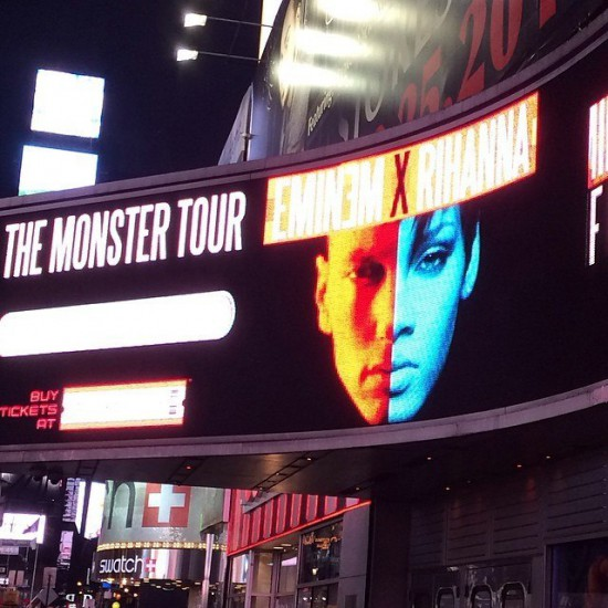 Реклама Eminem и Rihanna The Monster Tour