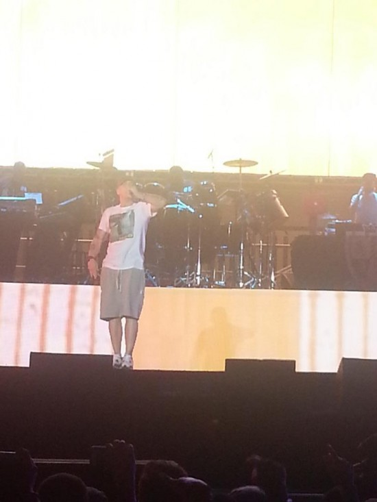 Eminem выступил на фестивале Lollapalooza 2014 (Grant Park, Chicago, Illinois) August 1, 2014.