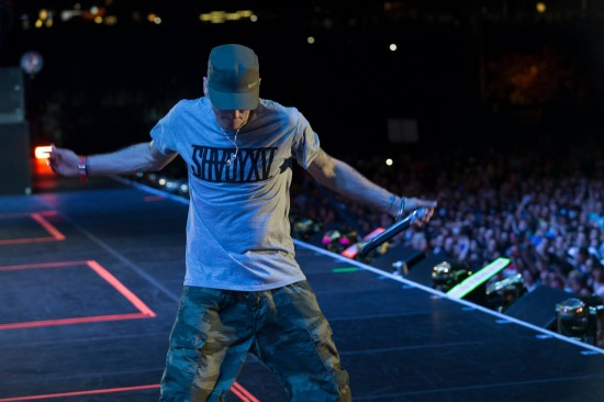 Eminem The Monster Tour - Detroit, MI, Comerica Park Photos by Jeremy Deputat
