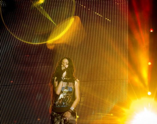 Rihanna at MetLife Stadium