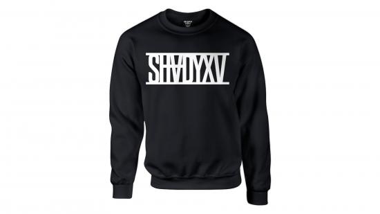 SHADYXV - Limited Edition Black Crewneck Sweatshirt / Чёрный свитер с длинным рукавом и белым логотипом «SHADYXV» на груди