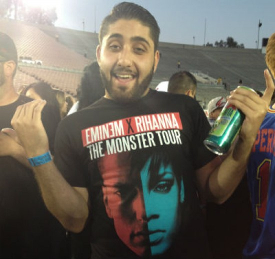 Masis, Stan, The Monster Tour, фанат