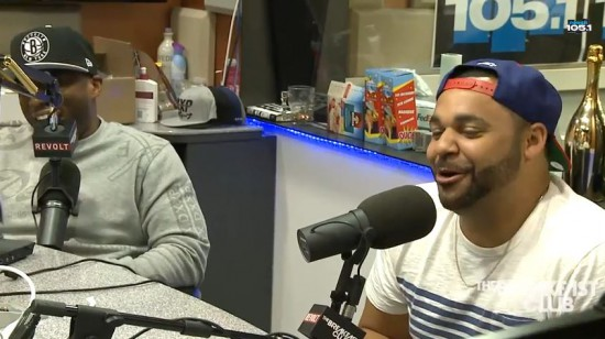2014.09.18 - Joell Ortiz On The Breakfast Club
