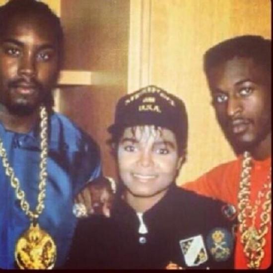 Eric B., Janet Jackson, & Rakim