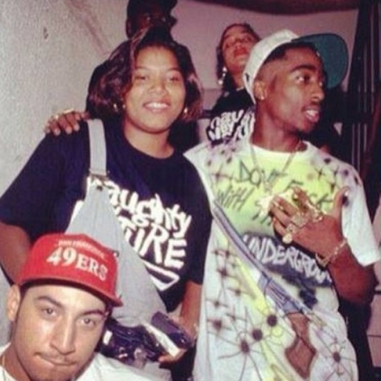 Kid Capri, Queen Latifah, & 2Pac