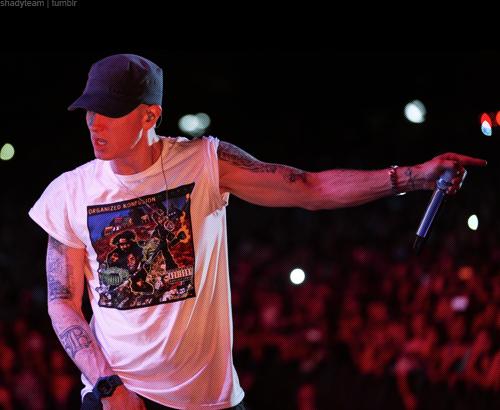 Eminem at ACL 2014 (Austin City Limits Music Festival), Zilker Park, Austin, Texas 10/04/2014