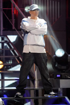 Eminem at 2009 VH1 Hip Hop Honors Show