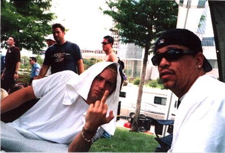Eminem и Ice-T 1999