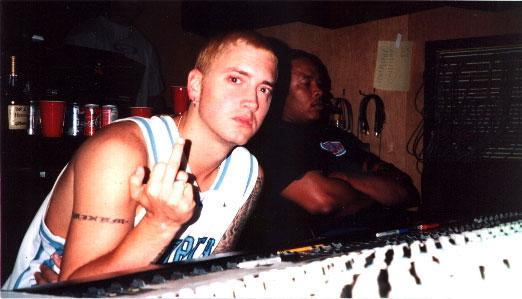 "Eminem: «Иди на хуй, мы работаем!» / Eminem: ""Fuck you, we're workin'!"""
