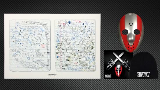SHADYXV PRE-ORDER 2 DISC CD + PRINT + MASK + BEANIE