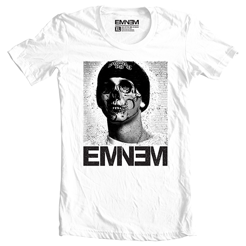 Eminem NO LIFE T-SHIRT (WHITE)