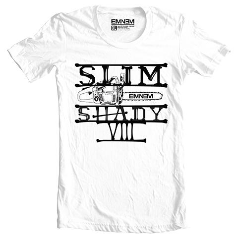 Eminem CHAINSAW T-SHIRT (WHITE)