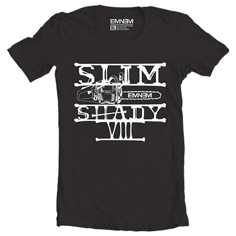 Eminem CHAINSAW T-SHIRT (BLACK)