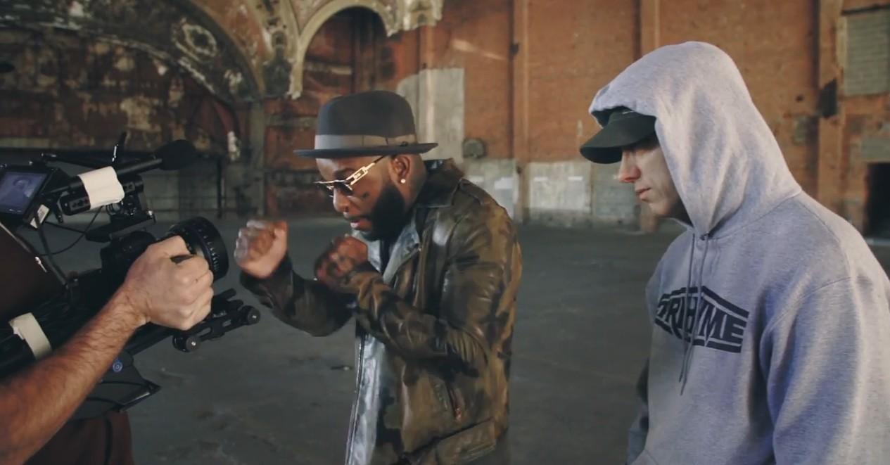 2014.12.18 - Eminem - CXVPHER Behind The Scenes