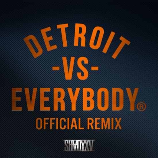 Официальный ремикс на трек «Detroit Vs Everybody»