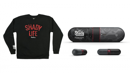 Shady Records x Beats by Dre x Distinct Life – Red Crewneck Capsule