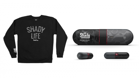 Shady Records x Beats by Dre x Distinct Life - Grey Crewneck Capsule