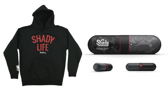 Shady Records x Beats by Dre x Distinct Life - Red Hoodie Capsule