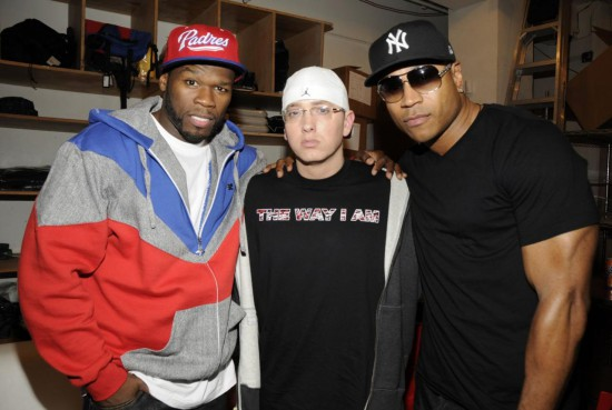 50 Cent Eminem LL Cool J