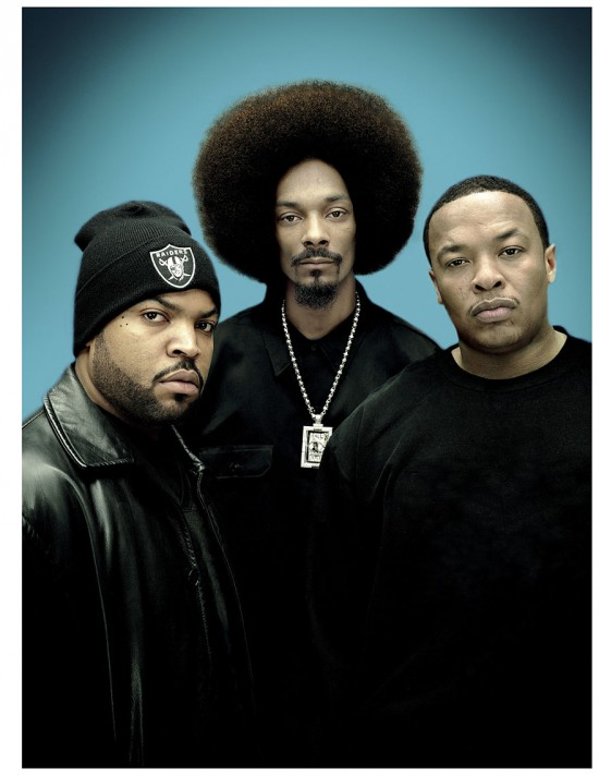 Ice Cube Snoop Dogg Dr. Dre by Nitin Vadukul