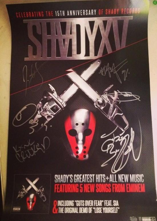 SHADYXV Signed Poster
