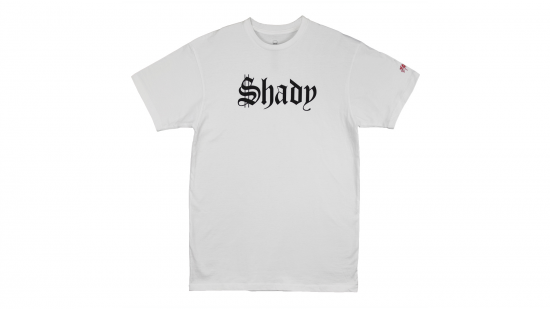 SSUR x Shady Records - Old English T-Shirt (White)
