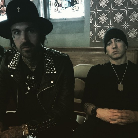 2015.04.15 - Eminem and Yelawolf Best Friend Video