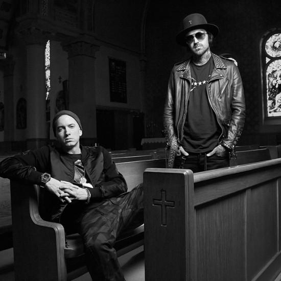 2015.04.25 - Eminem and Yelawolf Best Friend