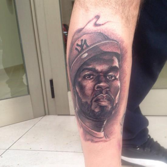 50 Cent tattoo