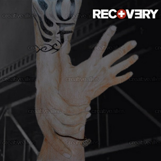 Design contest Recovery Cover for Eminem Album by Stefano sassorossi